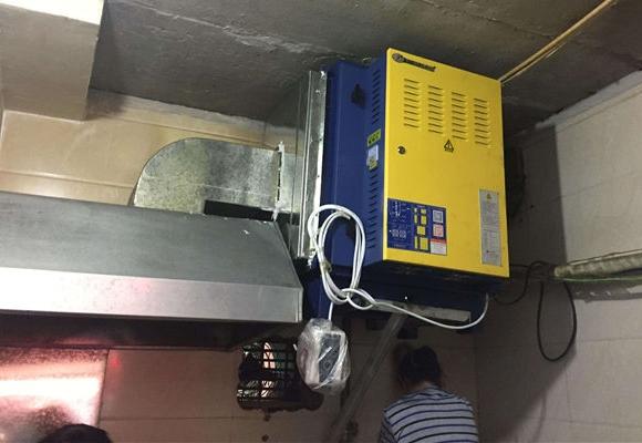 厨房净化器安装