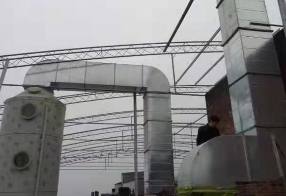 食品制作厂废气处理