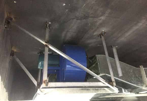 油烟风机安装